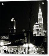 Kampung Baru Petronas Towers Acrylic Print