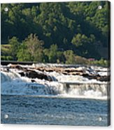 Kanawah Falls I - Spring Acrylic Print