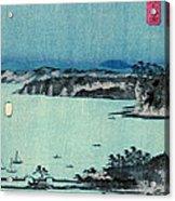 Kanazawa Full Moon 1857 Right Acrylic Print