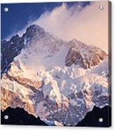 Kanchenjunga From  Goecha La  Acrylic Print