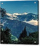 Kanchenjunga Acrylic Print