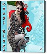 Kandi Blaze Poster 1 Acrylic Print