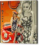 Kandi Blaze Poster 4 Acrylic Print