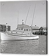 Kandy Of Barnstable Harbor 1950's Acrylic Print
