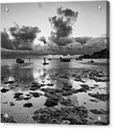 Kaneohe Bay Acrylic Print by Tin Lung Chao