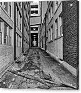 Kansas City Alley Acrylic Print