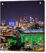 Kansas City In Lights Acrylic Print