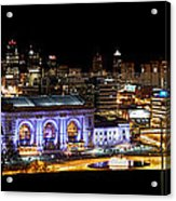 Kansas City Lights Acrylic Print
