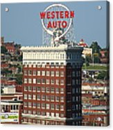 Kansas City - Western Auto Building 2 Acrylic Print