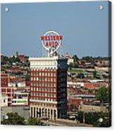 Kansas City - Western Auto Building Acrylic Print