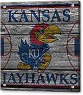 Kansas Jayhawks Acrylic Print