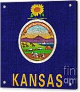 Kansas State Flag Acrylic Print