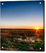 Kansas Sunrise Acrylic Print