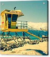 Kapukaulua Beach Lifeguard Station Paia Maui Hawaii  Acrylic Print