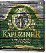 Kapuziner Acrylic Print
