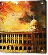 Karachi Port Acrylic Print