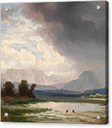 Karawanks Landscape Acrylic Print