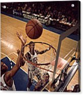 Kareem Abdul Jabbar Tip In Acrylic Print by Retro Images Archive