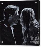 Karen Gillan And Arthur Darvill Acrylic Print