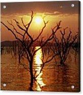 Kariba Sunset Acrylic Print