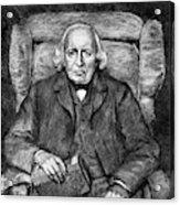 Karl Theodor Weierstrass (1815-1897) Acrylic Print