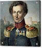 Karl Von Clausewitz (1780-1831) Acrylic Print