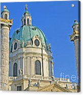 Karlskirche - Vienna Acrylic Print
