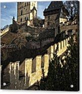 Karlstejn Castle Color Acrylic Print