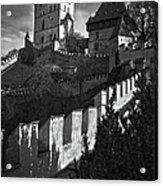 Karlstejn Castle Acrylic Print