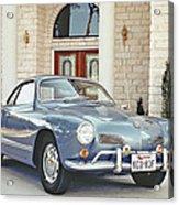 Karmann Ghia Coupe Acrylic Print