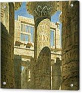 Karnak Acrylic Print