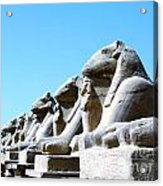 Karnak Temple Statue 14 Acrylic Print