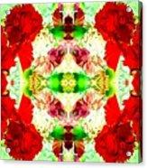 Karnation Kaleidoscope Acrylic Print