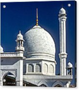 Kashmir Mosque Acrylic Print by Steve Harrington