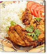 Kashmiri Chicken Acrylic Print