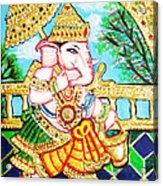 Kasi Yatra Ganesh Acrylic Print