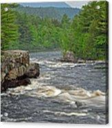 Katahdin And Penobscot River Acrylic Print