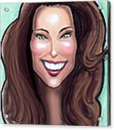 Kate Middleton Acrylic Print by Kevin Middleton