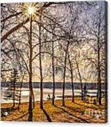 Katepwa Lake In Saskatchewan Acrylic Print