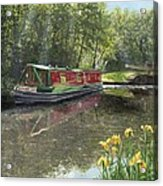 Kathleen May Chesterfield Canal Nottinghamshire Acrylic Print