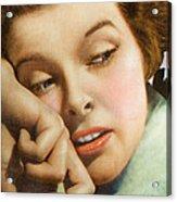 Kathryn Hepburn Acrylic Print