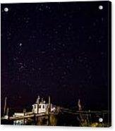 Katlyn Under The Stars Acrylic Print