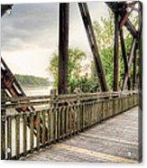 Katy Trail Near Easley Acrylic Print