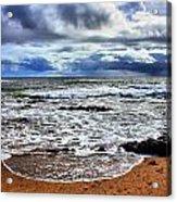 Kauai Glass Beach Acrylic Print