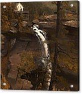 Kauterskill Falls Acrylic Print