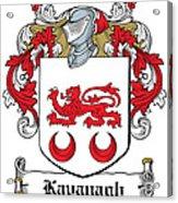Kavanaugh Coat Of Arms Irish Acrylic Print