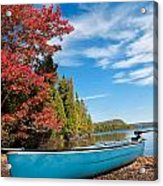 Kayak Boat During Sunny Day  Acrylic Print