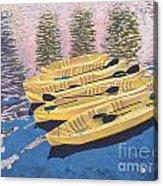 Kayak Dream Acrylic Print