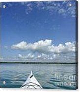 Kayak On Lake Ontario Acrylic Print