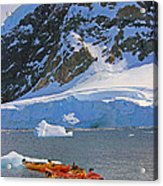 Kayaker's Dream Acrylic Print